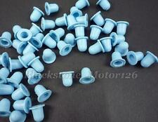 100 Pcs Moulding Clip Grommet Rubber Nut A21397 1H0-853-586 For BMW For VW Jetta