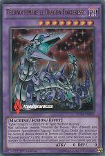 ♦Yu-Gi-Oh!♦ Technochimère le Dragon Forteresse : DUSA-FR065 -VF/Ultra Rare-