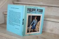 A Figueras - P Pétain devant l'histoire et la patrie (dédicace de l'auteur)
