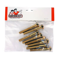 "Pinball Machine Replacement Leg Bolt - Brass - 2-3/4"" - Set of 8"