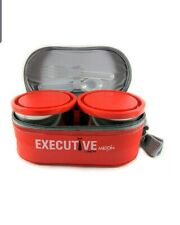 Milton Executive Lunch Box-3 Pieces-260 Ml-Orange