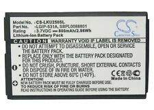 Replacement Battery For LG 3.7v 800mAh / 2.96Wh Mobile, SmartPhone Battery