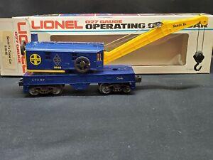 Lionel Santa Fe Crane Car 6-9348 The Car Mint in Box