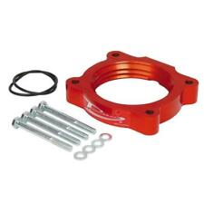 AirAid Throttle Body Spacer 200-585-1; PowerAid Red Aluminum for Chevy Colorado