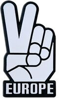 Auto 3D Aufkleber Relief Schild Victory Europe Mr. Spock V Hand HR Art. 14754