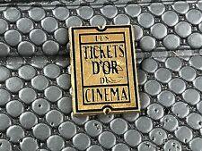 pins pin LES TICKETS D'OR DU CINEMA  ARTHUS BERTRAND