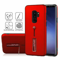 360 Full Body Slim Stand Finger Ring Strap Hard Cover Case For Samsung Galaxy S9