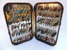 Hardy Neroda Tortoiseshell Fly Box With 'Holdtite' Clips + 92 Flies.