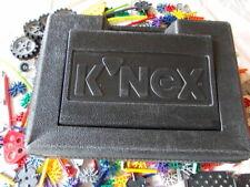 K'nex koffer schwarz mit 500 teile konvolut + reifen + motor !