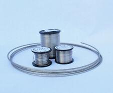 36 SWG nichrome (Nickel / CHROME) filo per 2 Metri Lunghezza 0,2 mm di diametro
