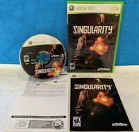 Singularity (Microsoft Xbox 360, 2010) with Manual - Tested & Working