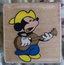 Disney Classic Rubber Stampede Mickey Mouse Home on the Range Singing Cowboy