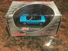 1/87 Scale Schuco Ford Thunderbird In Blue