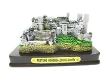 Salzburg Festung Hohensalzburg Poly Modell 8 cm Souvenir Österreich