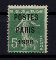 AJ140409/ FRANCE / PRECANCELLED / Y&T # 24 MINT NO GUM CERTIFICATE - CV 195 $