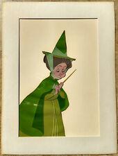 "Original Disney hand-painted 1959 Sleeping Beauty production cel - ""Fauna"""