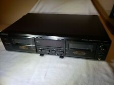 SONY TC-WE425 DUAL DECK CASSETTE PLAYER RECORDER Pre-Owned