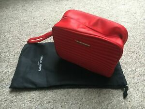 Armani Red Make Up Bag / Pouch