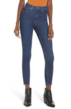 NEW! TOPSHOP MOTO JAMIE HIGH WAISTED ANKLE SKINNY JEANS SZ 25
