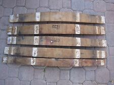 French Oak, 5 Staves, From Wine Barrels Mix.