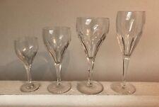 Service de verres en cristal VILLEROY & BOCH modèle MILANO 47 pièces 1960's