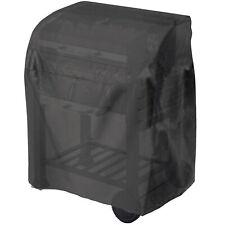 Tepro 8100 Universal Abdeckhaube für Grillwagen klein schwarz Grill Schutzhülle