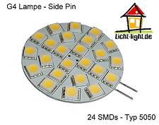 LED Stiftsockellampe 24 LEDs - 12V AC/DC G4 310 Lumen warmweiß nicht dimmbar