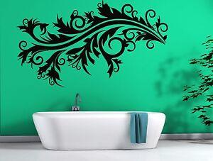 Wall Sticker Vinyl Decorative Pattern Refined Interior for Living Room (n116)