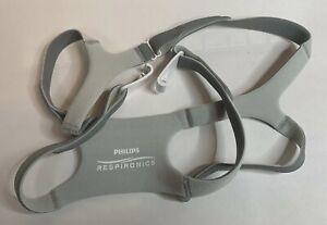 New Respironics Amara View Headgear with Clips. Standard. #1090697