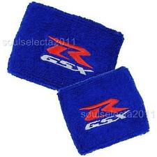 SUZUKI GSXR BRAKE RESERVOIR COVER OIL CUP COVER GP SOCK SET BLUE 600 750 1000