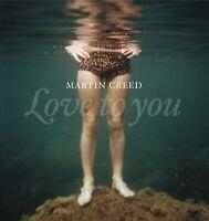 Martin Creed Liebe für Sie (2012) 18-track CD Album Neu/Verpackt