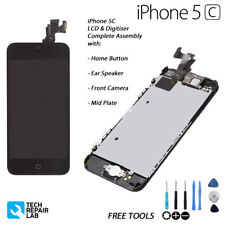 NEW Complete LCD & Digitiser Touch Screen Pre Assembled with Parts For iPhone 5C
