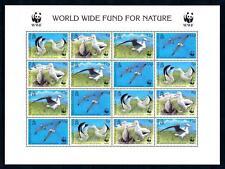 [94554] Tristan Da Cunha 1999 Birds Vögel Oiseaux Albatross WWF Sheet MNH