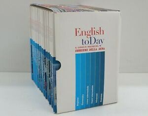 English to Day today Serie completa Corso Inglese 26 DVD+26 libricini. Versio...