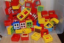 Lego Duplo Lot of 5 Windows w/ doors (randomly selected)