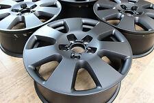 Felgen 7,5x18zoll et53 5x130 in schwarz matt passend für Audi Q7 4L