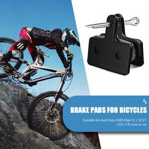 4 Pairs Semi-Metallic Bike Hydraulic Disc Brake Pads for BR-M375 M445 M446