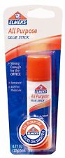 NEW Elmer's All Purpose Glue Stick 0.77 Ounces (12 Pack)
