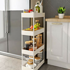 Multi-Layer Cart Shelf Storage Rack Vegetable Kitchen Removable Floor Bathroom