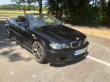 BMW E46 330cd M SPORT CONVERTIBLE 2005 - 75,000 miles