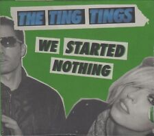 THE TING TINGS - We Started Nothing - FRENCH CD - 2008 - MINT & SEALED