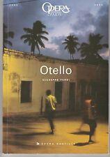 Programme Opéra Bastille Otello Giuseppe Verdi  2004