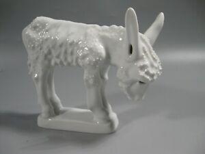 KPM Porcelain Burro Figurine