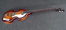 HOFNER VIOLIN BEATLE BASS GUITAR Custom Mod SUNBURST HI-BB-UPGRADE HI-BB-SB