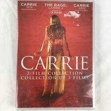 Carrie 3 Film Collection on DVD - 1976, The Rage (Carrie 2) and Carrie 2002