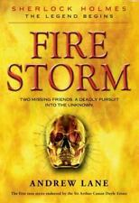 NEW - Fire Storm (Sherlock Holmes: The Legend Begins) by Lane, Andrew