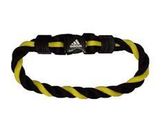 Adidas Sport Armband Sport Bracelet schwarz gelb Gr. M