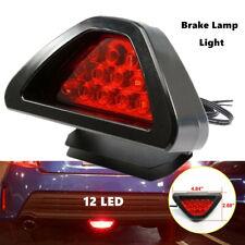 Car 12V  LED Rear Tail Brake Stop Light 3rd Red Strobe Fog Lamp Bumper Light