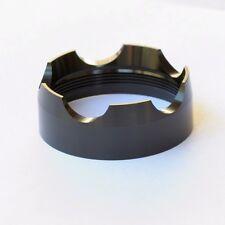 X CAPE CAP MAGLITE C and D CELL FLASHLIGHT GLASS BREAK STRIKE BEZEL UPGRADE NEW