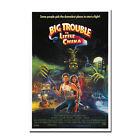 Big Trouble in Little China Classic Movie Silk Art Silk Poster 12x18 24x36inch